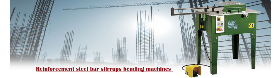 Rebar stirrups bending machines