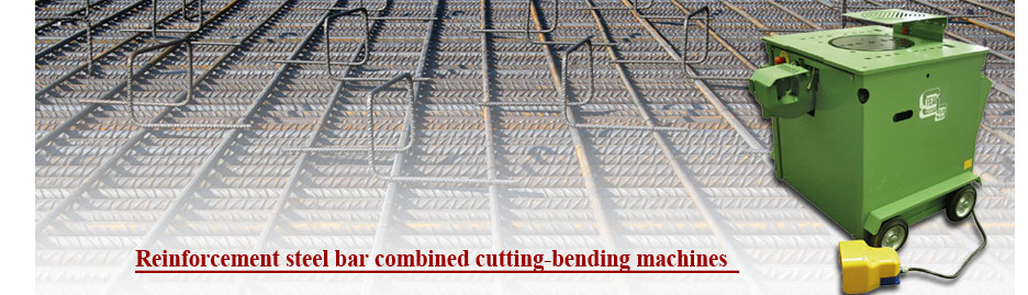 Rebar combined cutting bending machines